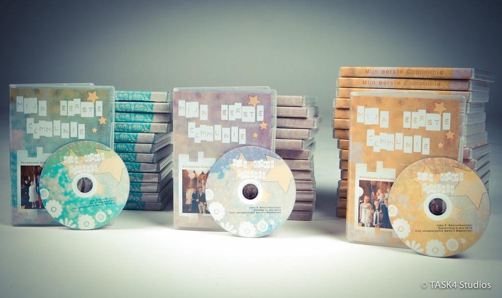 communie film DVD hoesjes voorbeeld